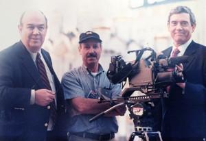 Izzy Bleckman, Charles Kuralt, and Dan Rather